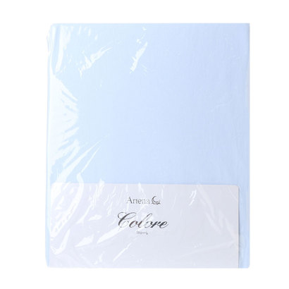 IDC OTSUKA/大塚家具 マットレスカバー(ニットシーツ) コローレ D W1400×D1950×H420 ブルー (ブルー)【返品不可商品】