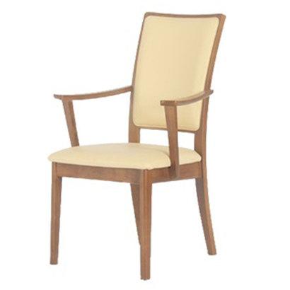 IDC OTSUKA/大塚家具 椅子(アーム) ホルス HDC-445 MO(ミディアムオーク)色 (ミディアムオーク)【返品不可商品】