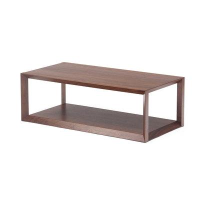 IDC OTSUKA/大塚家具 センターテーブル ウェッジ 120 WN (ウォールナット)【返品不可商品】
