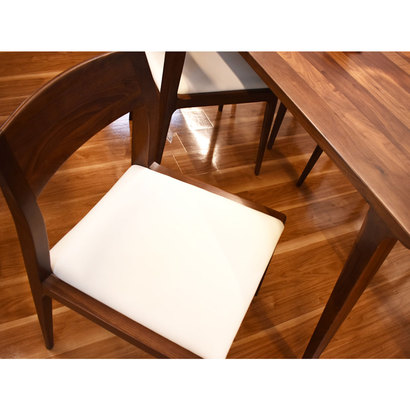 IDC OTSUKA/大塚家具 椅子 ハイヒール2 #PVCBE/WN ウォールナット材 (ウォールナット)【返品不可商品】
