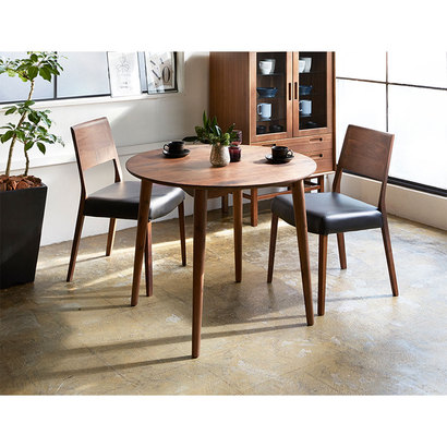 IDC OTSUKA/大塚家具 椅子 シネマ B2タイプ ウォールナット材/WN2色 PVCブラック (ウォールナット)【返品不可商品】