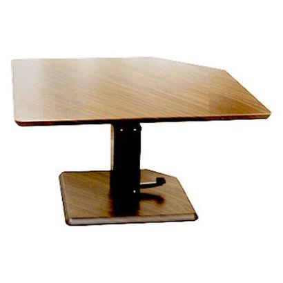 IDC OTSUKA/大塚家具 テーブル フィット 昇降式 Aタイプ(五角形) ハイタイプ【返品不可商品】