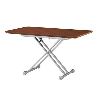 IDC OTSUKA/大塚家具 テーブル(昇降式)OTLF 長方形 1500タイプ ウォールナット色 (ウォールナット)【返品不可商品】