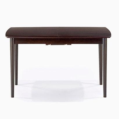 IDC OTSUKA/大塚家具 ダイニングテーブル(伸長式) ウイング DB 1500タイプ (ダークブラウン)【返品不可商品】