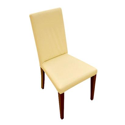 IDC OTSUKA/大塚家具 椅子 ジャストB PVCIV/DBオーク (ダークブラウン)【返品不可商品】