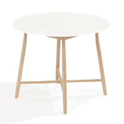 IDC OTSUKA/大塚家具 丸テーブル 209EB EB WH (ホワイト)【返品不可商品】