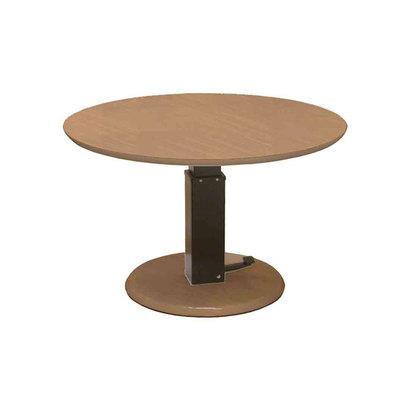 IDC OTSUKA/大塚家具 テーブル フィット 昇降式 Dタイプ(丸) ハイタイプ【返品不可商品】