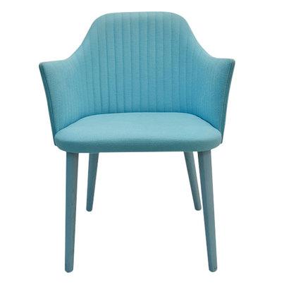 IDC OTSUKA/大塚家具 椅子アームブレイクSP布ターコイズブルー (ターコイズブルー)【返品不可商品】