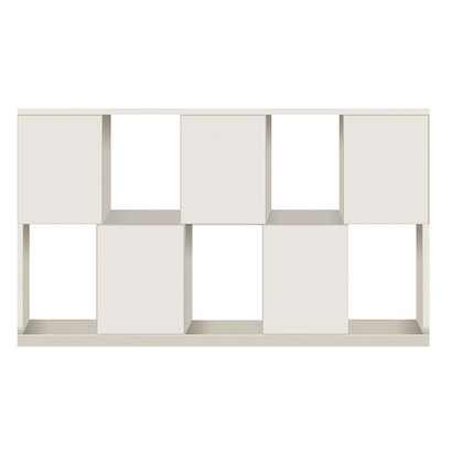 IDC OTSUKA/大塚家具 シェルフ ポンセル2 137 ホワイト色:WH ホワイト色:WH (ホワイト)【返品不可商品】
