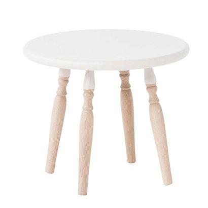 IDC OTSUKA/大塚家具 サイドテーブル(大) 500EB EBホワイト ブナ (ホワイト)【返品不可商品】