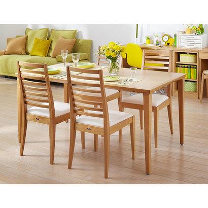 IDC OTSUKA/大塚家具 テーブル N-T005 WO ナラ W1500XD850 (ホワイトオーク)【返品不可商品】