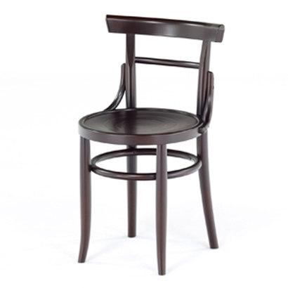 IDC OTSUKA/大塚家具 椅子 1003 ダブルサークル/WNブナ (ウォールナット)【返品不可商品】