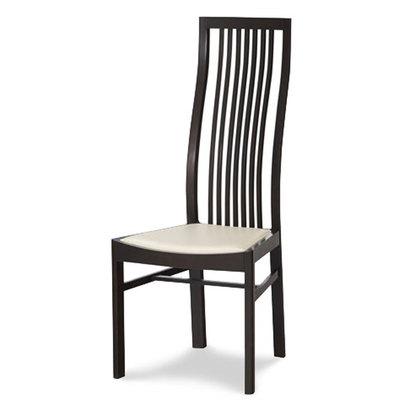 IDC OTSUKA/大塚家具 椅子 2801 ソフト WH/DB ブナ (ダークブラウン)【返品不可商品】