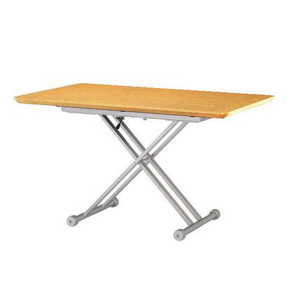 IDC OTSUKA/大塚家具 テーブル(昇降式)OTLF 長方形 1350タイプ ナチュラル色 (ナチュラル)【返品不可商品】