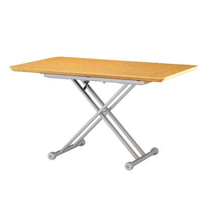 IDC OTSUKA/大塚家具 テーブル(昇降式)OTLF 長方形 1500タイプ ナチュラル色 (ナチュラル)【返品不可商品】