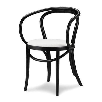 IDC OTSUKA/大塚家具 椅子 508OU #ソフトWH/BKブナ (ブラック)【返品不可商品】