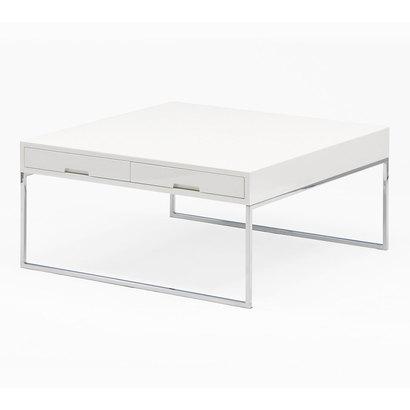 IDC OTSUKA/大塚家具 センターテーブル 引出し付き DMGF016900WH (ホワイト)【返品不可商品】
