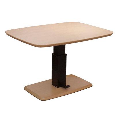 IDC OTSUKA/大塚家具 テーブル フィット 昇降式 Cタイプ(長方形)/ハイタイプ (オーク材・無垢)【返品不可商品】