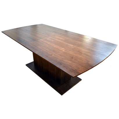 IDC OTSUKA/大塚家具 テーブル(伸長式)DM GF016WN (ウォールナット)【返品不可商品】