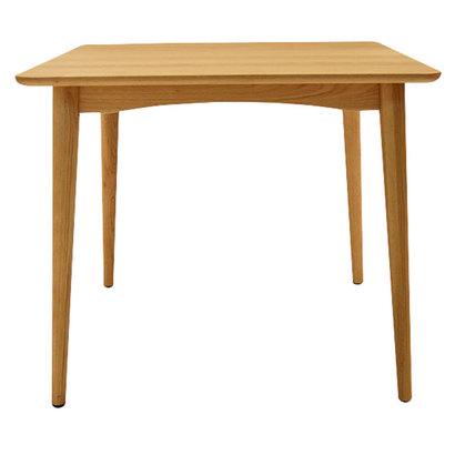 IDC OTSUKA/大塚家具 テーブル シネマ3 85X85 WO (ホワイトオーク)【返品不可商品】