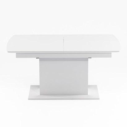 IDC OTSUKA/大塚家具 ダイニングテーブル(伸長式) DM-GF016 WH (ホワイト)【返品不可商品】