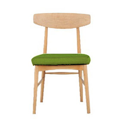 IDC OTSUKA/大塚家具 椅子 ユノA カバー布#2 WO色 ライトグリーン (ライトグリーン)【返品不可商品】