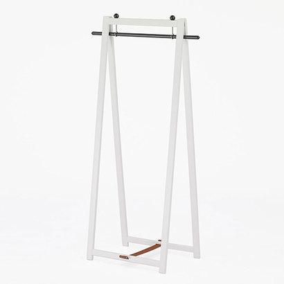 IDC OTSUKA/大塚家具 ハンガーラック 3000-B WH (ホワイト)【返品不可商品】
