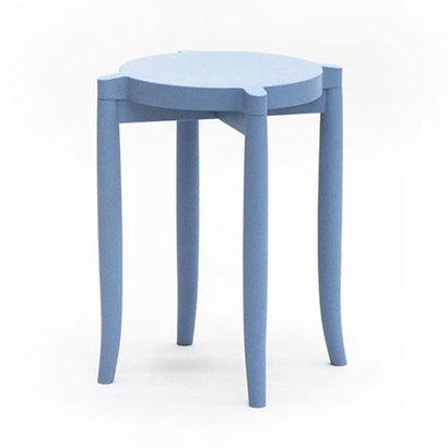 IDC OTSUKA/大塚家具 スツール 209EB EBブルー (ブルー)【返品不可商品】