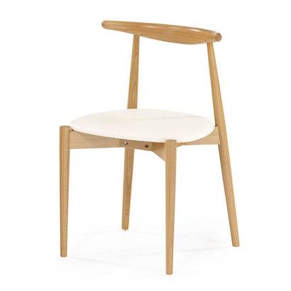 IDC OTSUKA/大塚家具 椅子 0808 #PVCIV NA ブナ (ナチュラル)【返品不可商品】