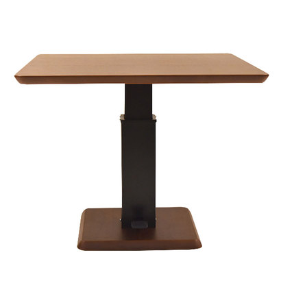 IDC OTSUKA/大塚家具 テーブル(昇降式)フィットE H WN (ウォールナット)【返品不可商品】