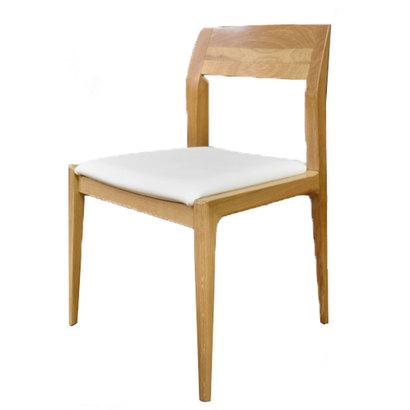 IDC OTSUKA/大塚家具 椅子 ハイヒール2 #PVCBE/WO オーク (ホワイトオーク)【返品不可商品】