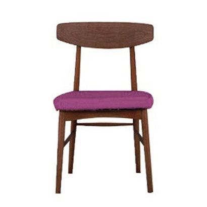 IDC OTSUKA/大塚家具 椅子 ユノA カバー布#2 DB色 パープル (パープル)【返品不可商品】
