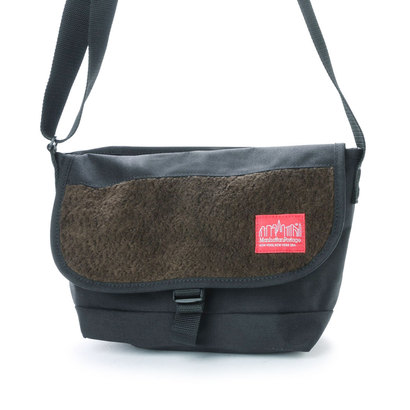 マンハッタンポーテージ Manhattan Portage Boa Fabric Messenger Bag (Black)