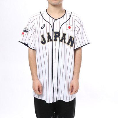 アシックス asics メンズ 野球 レプリカウェア レプリカユニフォーム(H).サムライホワイト BAK713