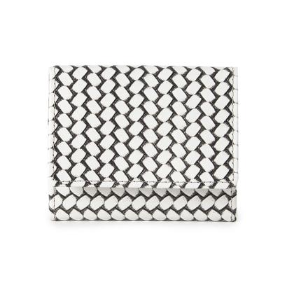 ヒロコ ハヤシ HIROKO HAYASHI OTTICA(オッティカ) 薄型ミニ財布 (アイボリー)