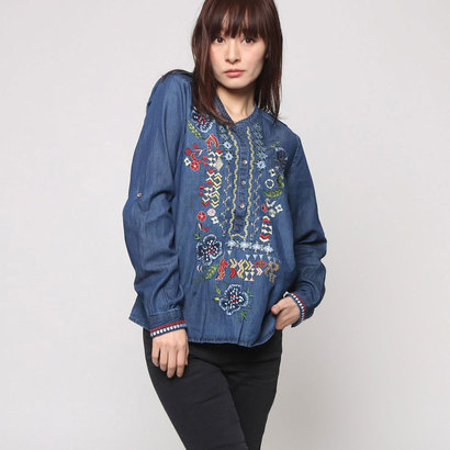 【アウトレット】デシグアル Desigual BLUS_AZUL (DENIM MEDIUM LIGHT)