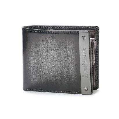 アルセラピィ artherapie ATメタルプレートアドバン 二つ折り財布 (シルバー)