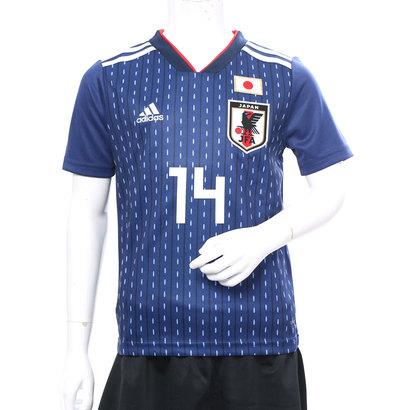 勝色アーマーパック アディダス adidas サッカー アディダス adidas サッカーキッズ日本代表ホームレプリカユニフォーム(14番森岡亮太) 8339154348