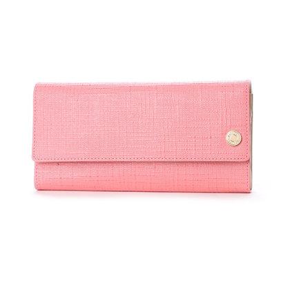 ナチュラルビューティー バッグアンドウォレット NATURAL BEAUTY BAG & WALLET ウィーブ (ピンク)