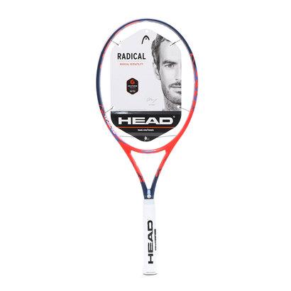 ヘッド HEAD 硬式テニス 未張りラケット グラフィンタッチ ラジカルS 232638 (レッド)