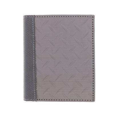 スチュワート スタンド STEWART/STAND ステンレス糸のコインケース付きウォレット/ダイヤモンド プレート (シルバー/ダイヤモンド プレート)