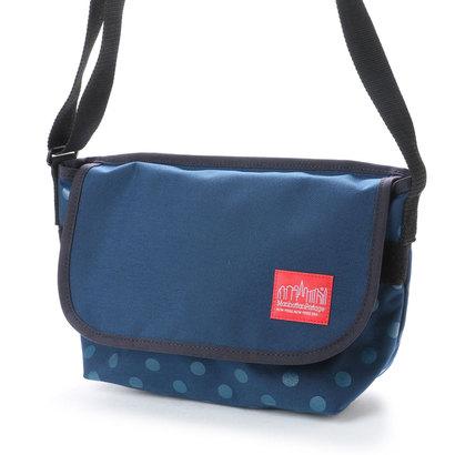 マンハッタンポーテージ Manhattan Portage Dot Print Casual Messenger Bag (Navy)