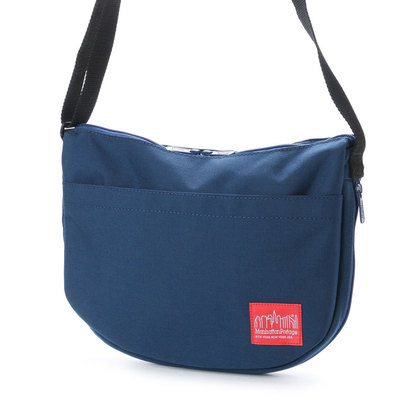 マンハッタンポーテージ Manhattan Portage Dot Print Columbus Circle Shoulder Bag (Navy)