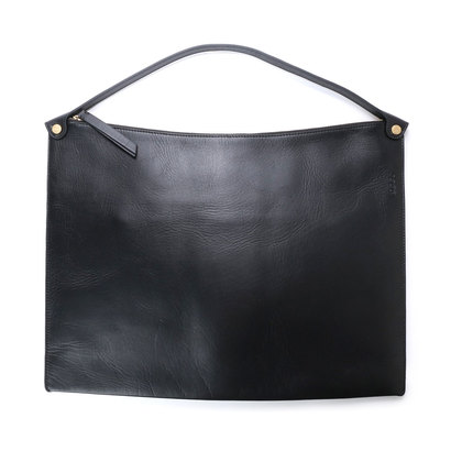エコー ECCO Sculptured Shoulder Bag (BLACK)