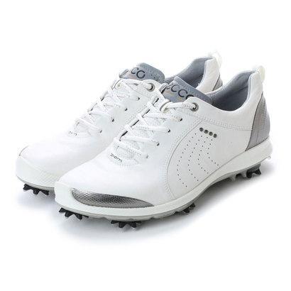 エコー ECCO Womens Golf Biom G 2 (White/Buffed Silver)