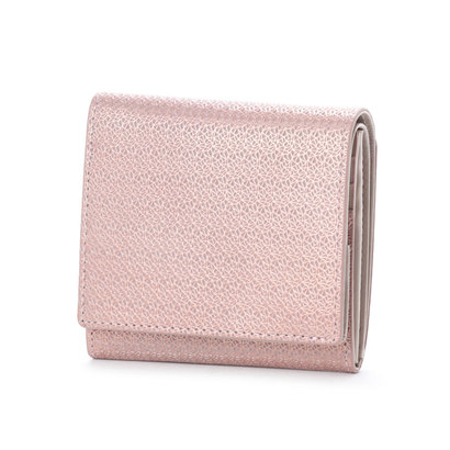リント Rinto ギャルソン2つ折財布 (ピンク)