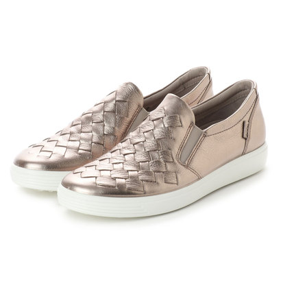 【アウトレット】エコー ECCO Womens Soft 7 Woven (WARM GREY)