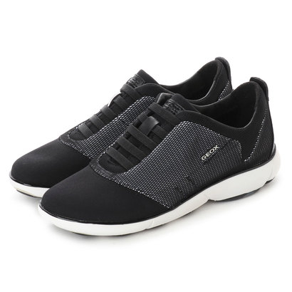 ジェオックス GEOX SNEAKERS (WHITE/BLACK)