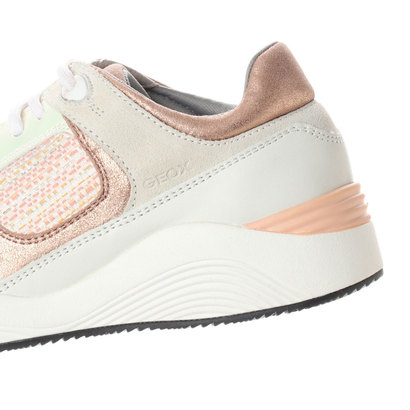 アウトレット ジェオックス GEOX SNEAKERSOFF WHITE PEACHeWED9HY2I