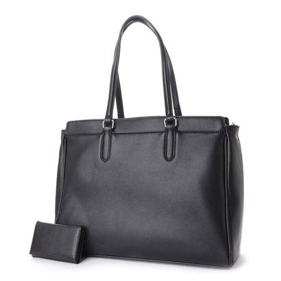 ヒッチハイクマーケット HITCH HIKE MARKET Practical tote bag (ブラック)